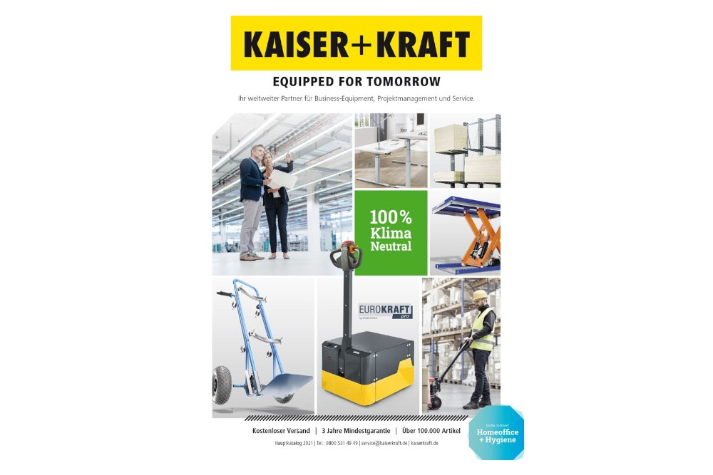 Kaiser+Kraft mit neuer Corporate Identity