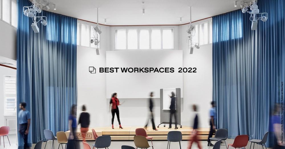 Best Workspaces geht 2022 in die zweite Runde. Abbildung: Suleiman Merchant
