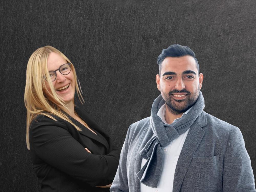 Sandra Kiel und Engin Eser, Geschäftsführende der EventPunks. Abbildung: EventPunks