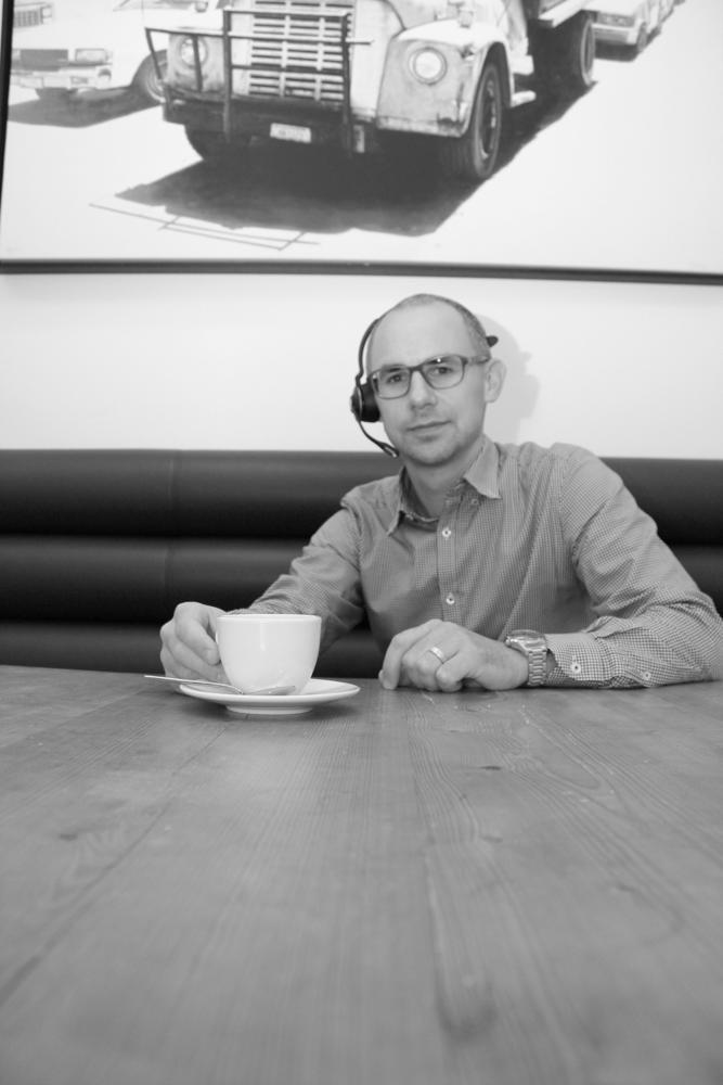 Lukas Dunkel, Geschäftsführer der bonOffice GmbH, zeigt sich sehr zufrieden mit der digitalen Transformation seines Unternehmens. Abbildung: bonOffice