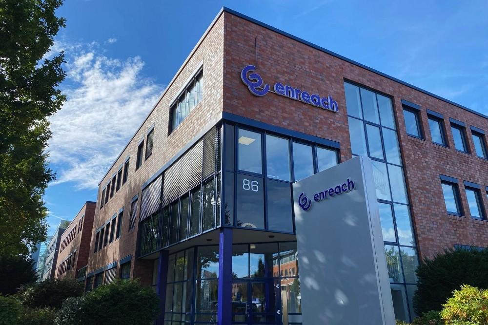 Die Firmenzentrale der Enreach GmbH in Dortmund. Abbildung: Enreach