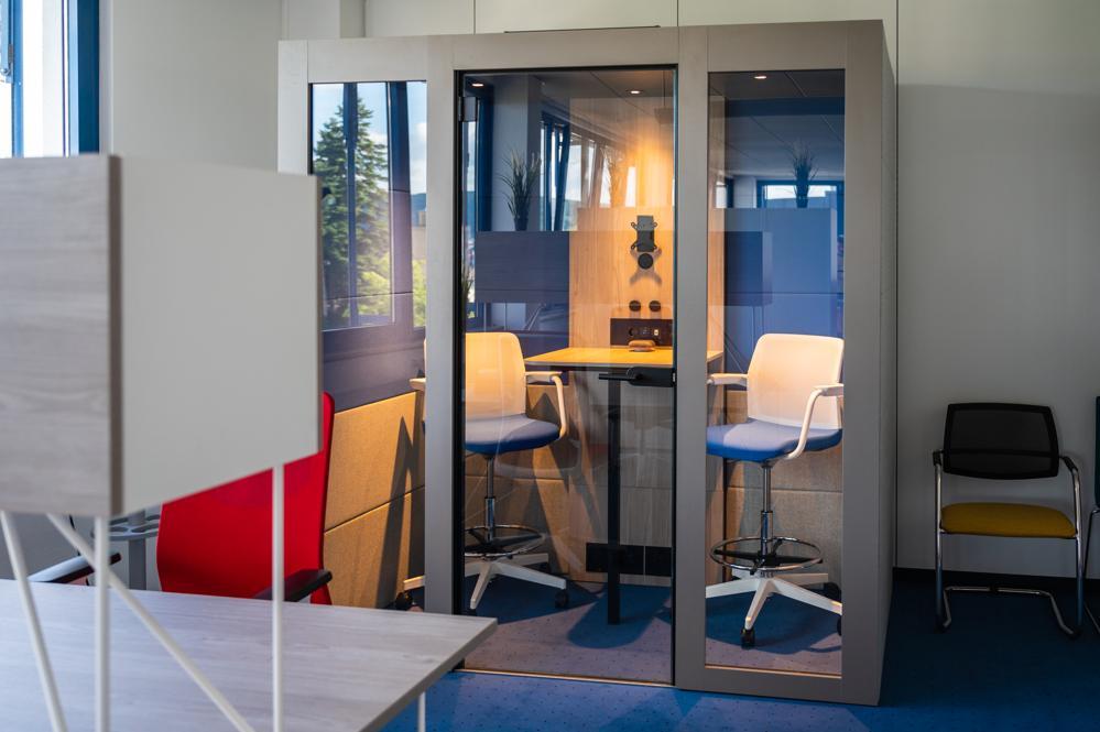Das Raum-in-Raum-System Silent Room. Abbildung: Narbutas